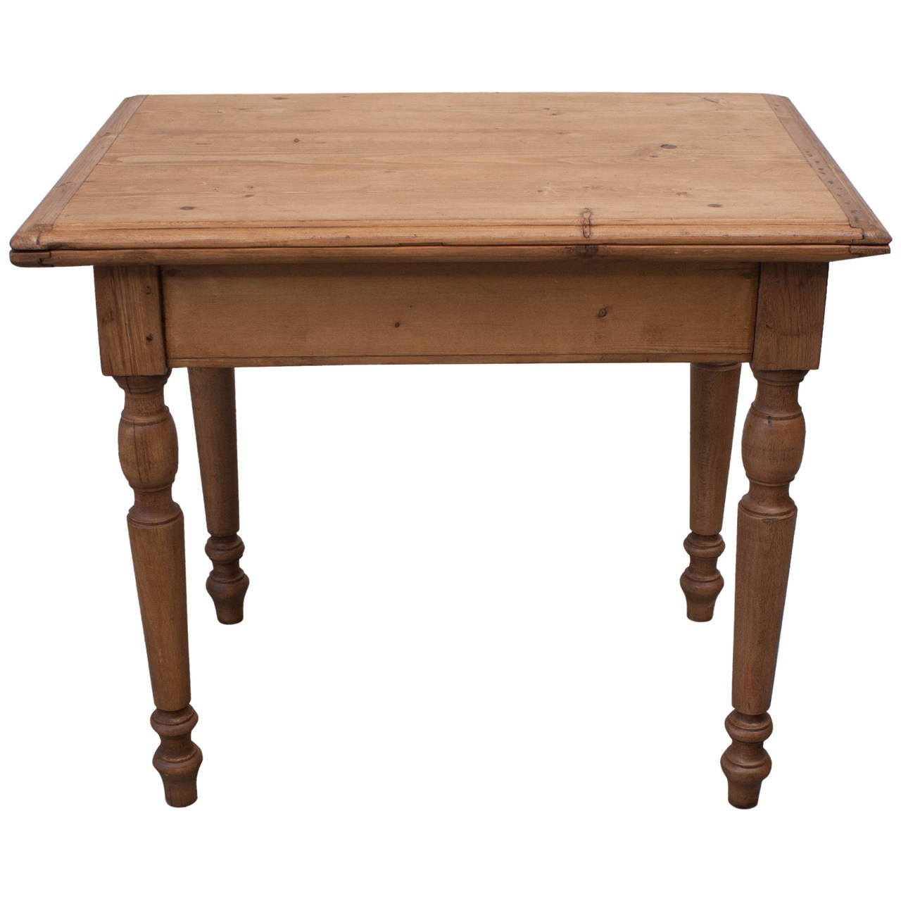 Pine And Beechwood Swivel Top Table At 1stdibs