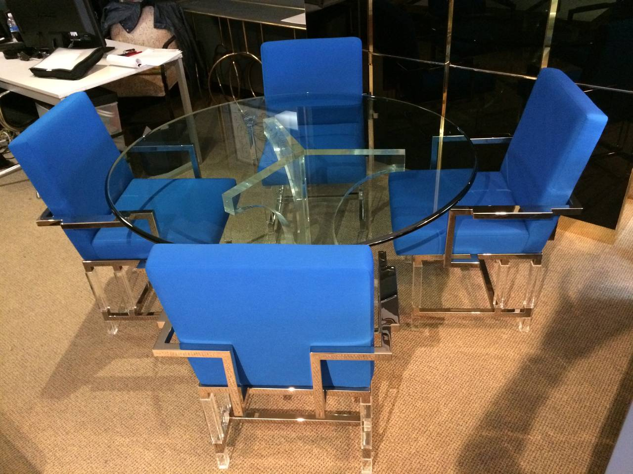 Late 20th Century Charles Hollis Jones Triple Arch Dining Table for the