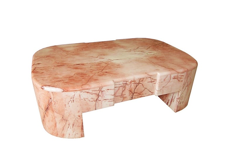 Mexican Modernism Marble Coffee Table At 1stdibs