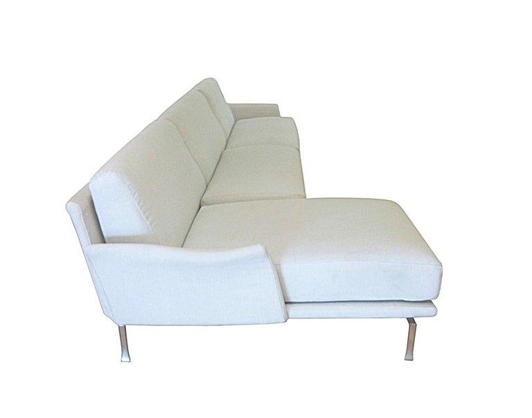 Italian Moroso Two Piece Sectional Sofa Image 3