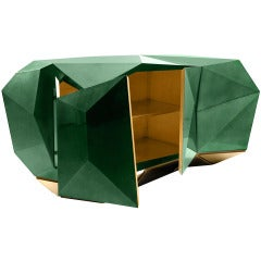Emerald Faceted Sideboard by MARCO COSTA,LIMITED EDITION OF 20