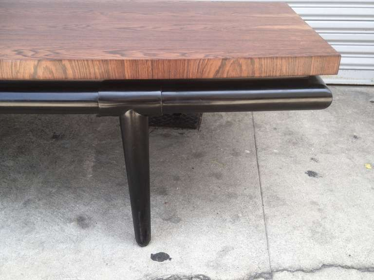 Rosewood Coffee Table by Maurice Bailey for Monteverdi-Young In Good Condition For Sale In Los Angeles, CA