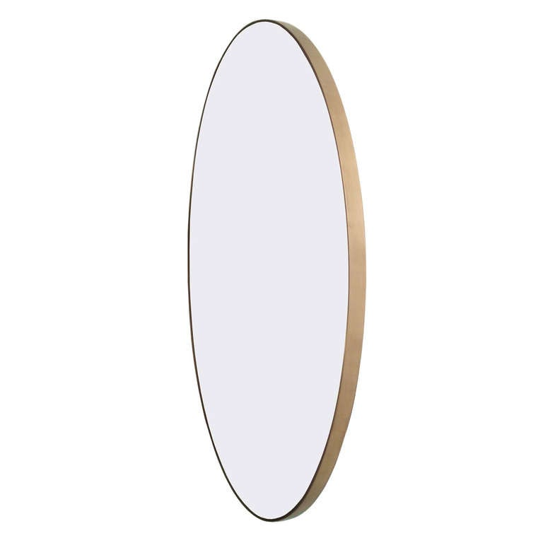 """""""Miror, Mirror"""" Solid Brass Wall Mirror, Limited Edition of 11"""