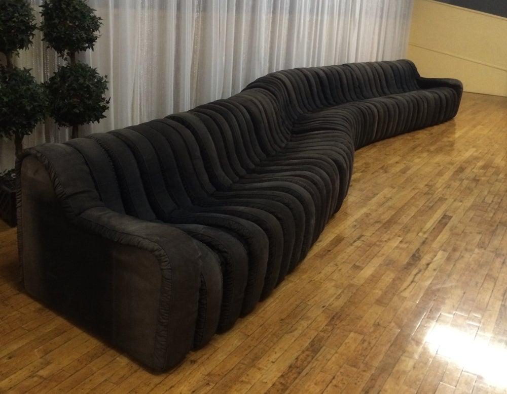 Vintage Casa Bella Sectional Nonstop Style Modular Sofa 5