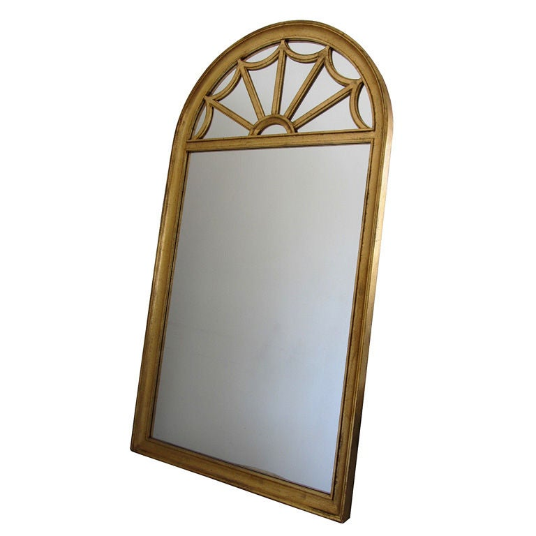 Tall gilded italian mirror by labarge for sale at 1stdibs for Tall mirrors for sale