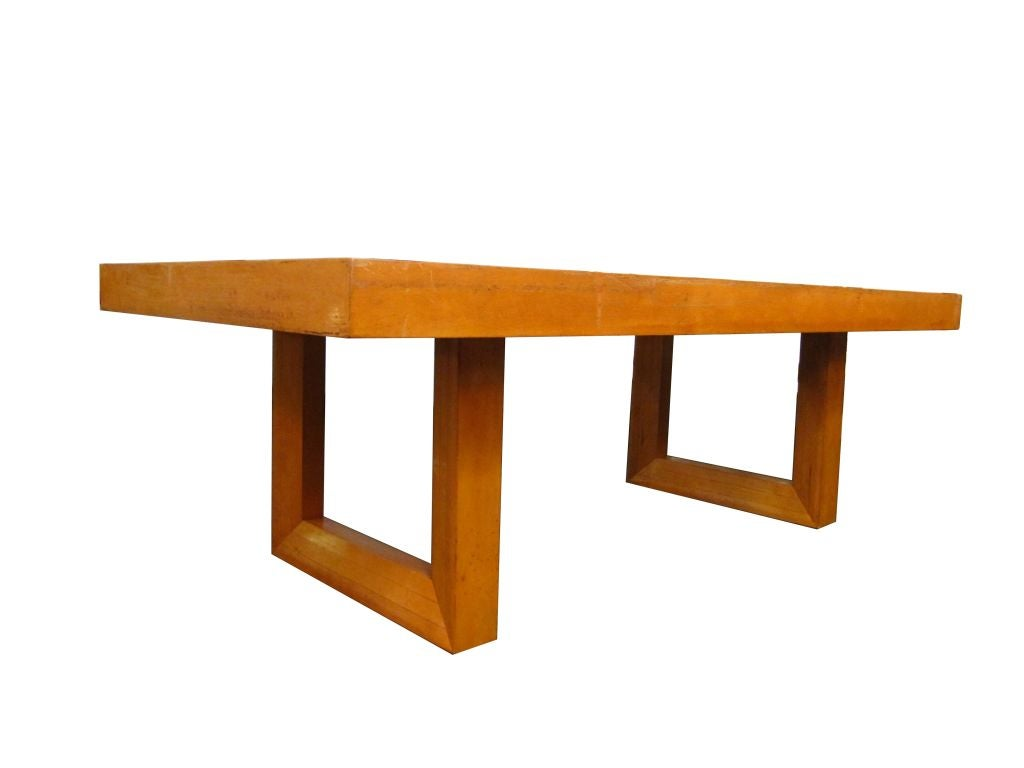 Checkerboard Coffee Table By Paul Frankl For Brown And Saltman 3
