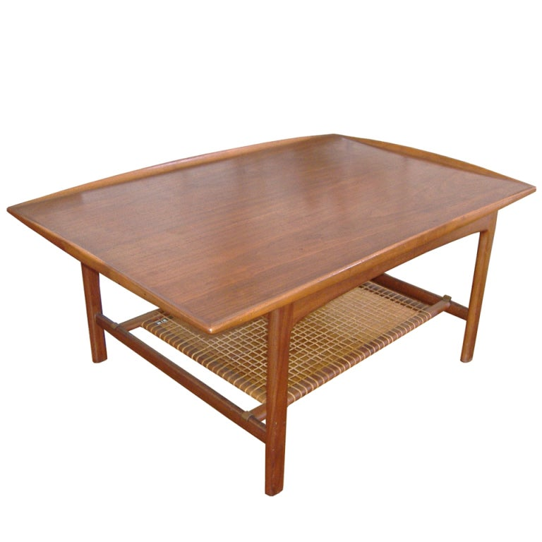Vintage Coffee Table In The Style Of Finn Juhl At 1stdibs