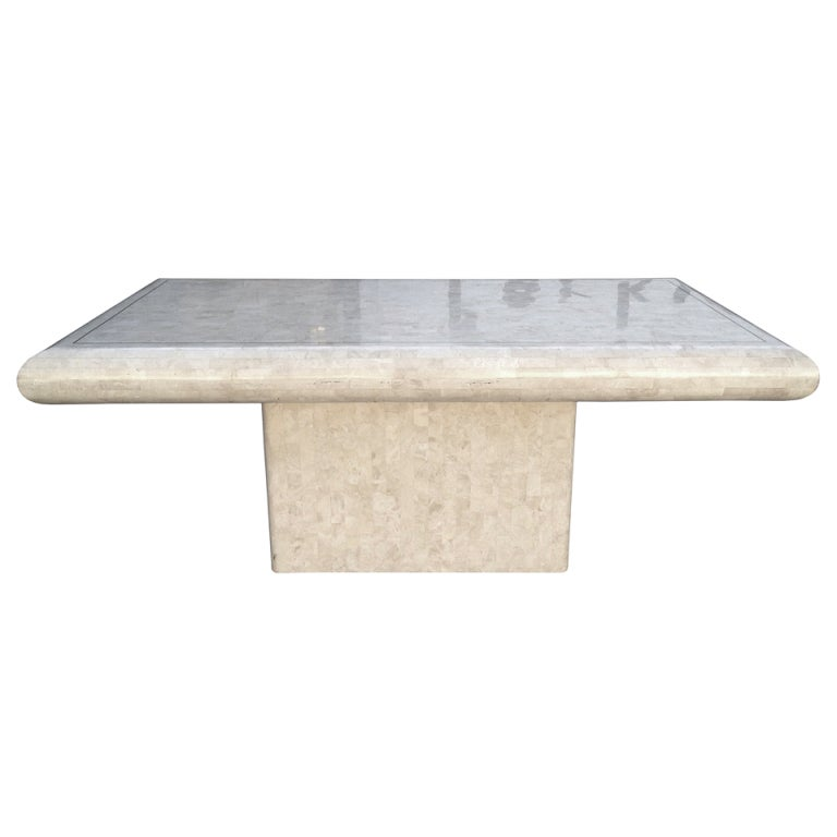 Maitland-Smith Tessellated Dining Table For Sale