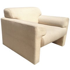 Pair of  Armchairs and Ottoman by Brayton International