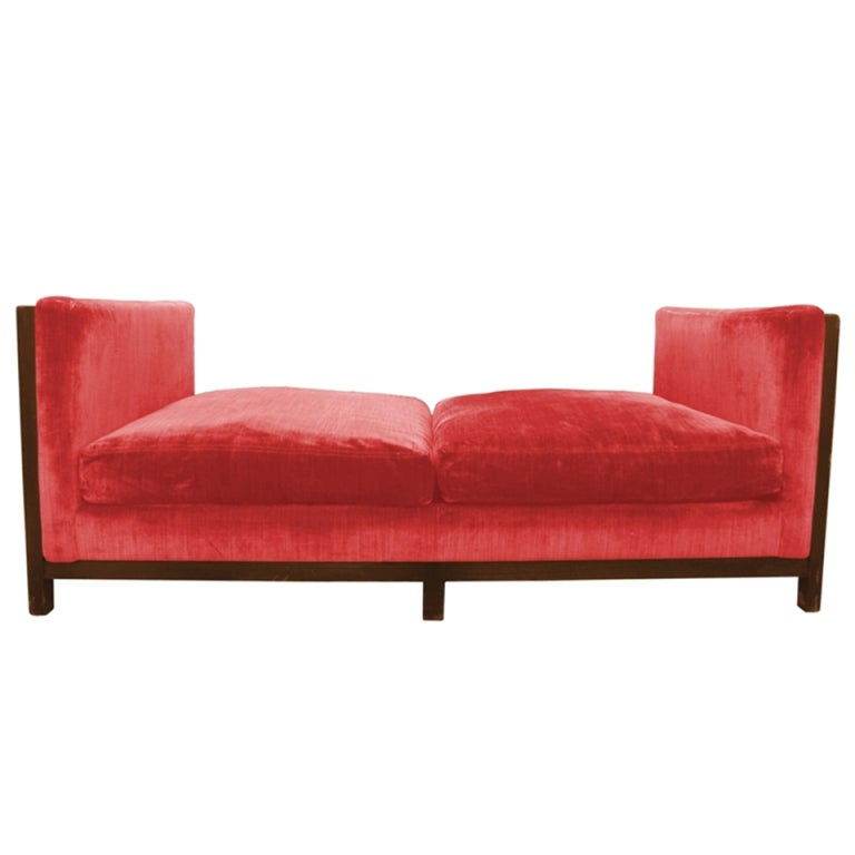Mid century modern day bed sofa at 1stdibs for Mid century daybed sofa