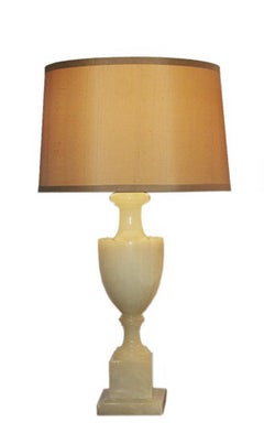 Italian Alabaster Stone Table Lamp