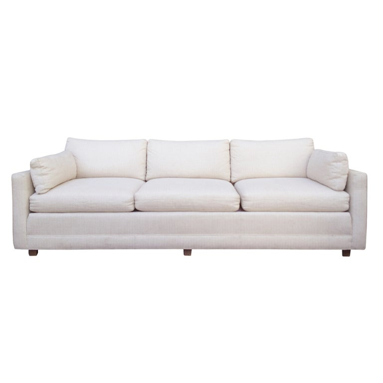 Stunning 3 seater sofa by baker furniture at 1stdibs for Baker furniture sectional sofa