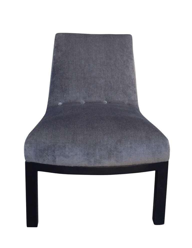 Edward wormley slipper chair for dunbar for sale at 1stdibs - Edward wormley chairs ...