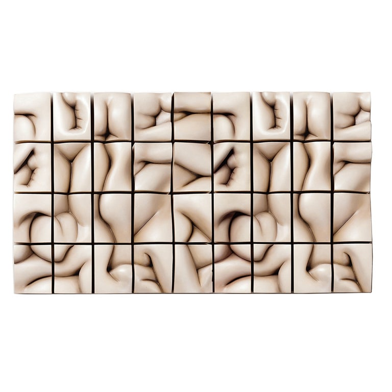 "Tanya Ragir ""Rolling Hills"" Wall Sculpture For Sale"