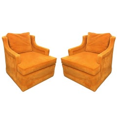 1960s Armchairs by Edward Wormley for Dunbar