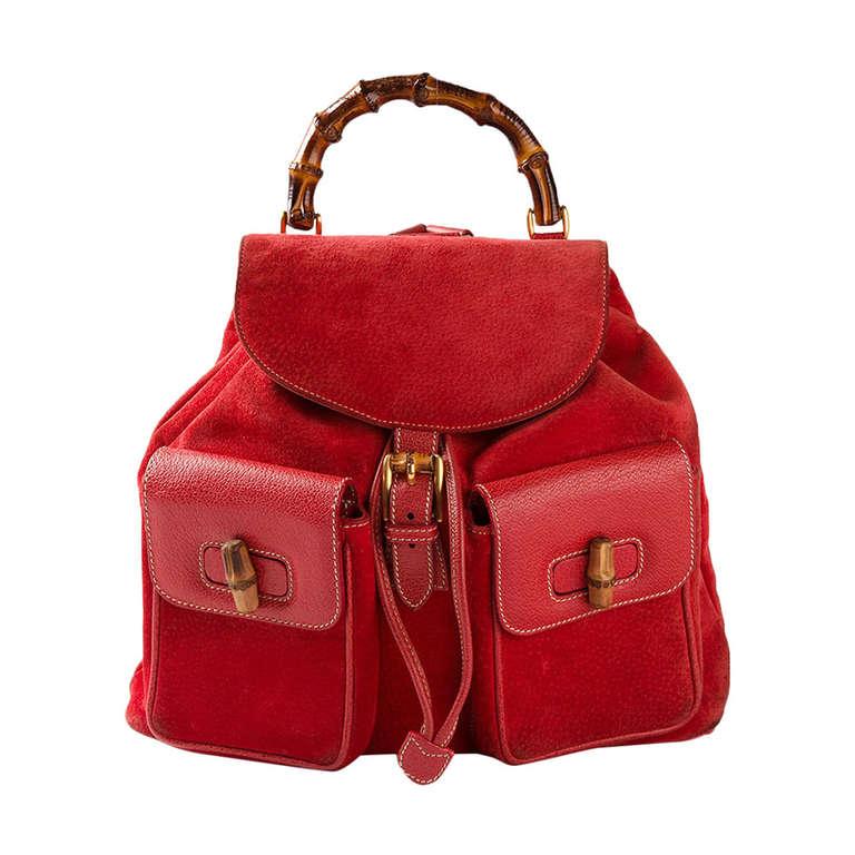 Gucci Vintage Backpack 1