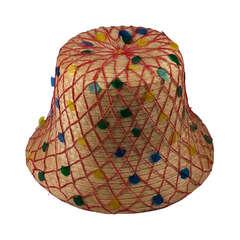 Italian Straw Beach Hat