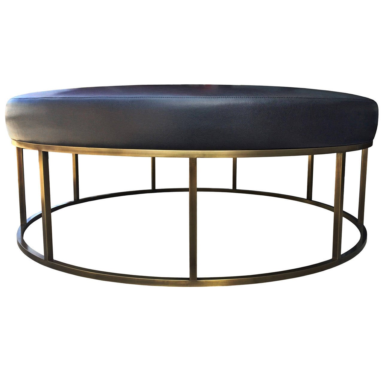 from ottoman by round palliser danco modern otto
