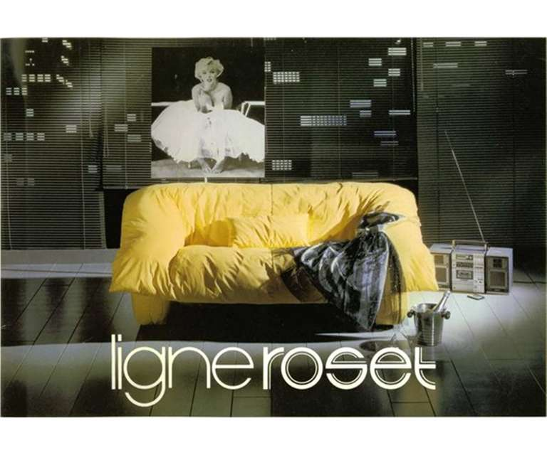 vintage ligne roset flou flou sofa at 1stdibs. Black Bedroom Furniture Sets. Home Design Ideas