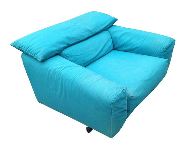 Vintage Arketipo Sofa and Lounge Chair 4