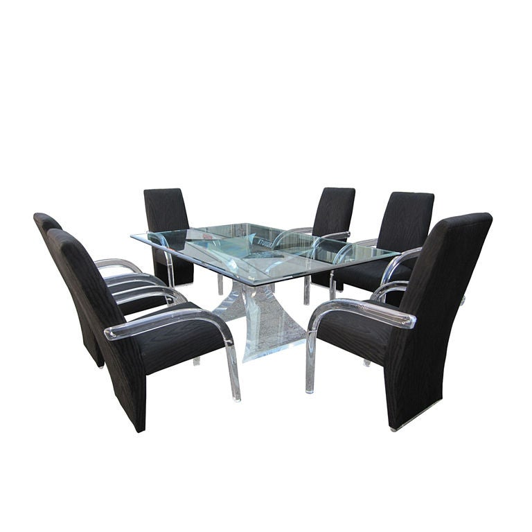 Sculptural Quot Odyssey Quot Dining Set By Lion In Frost Chairs