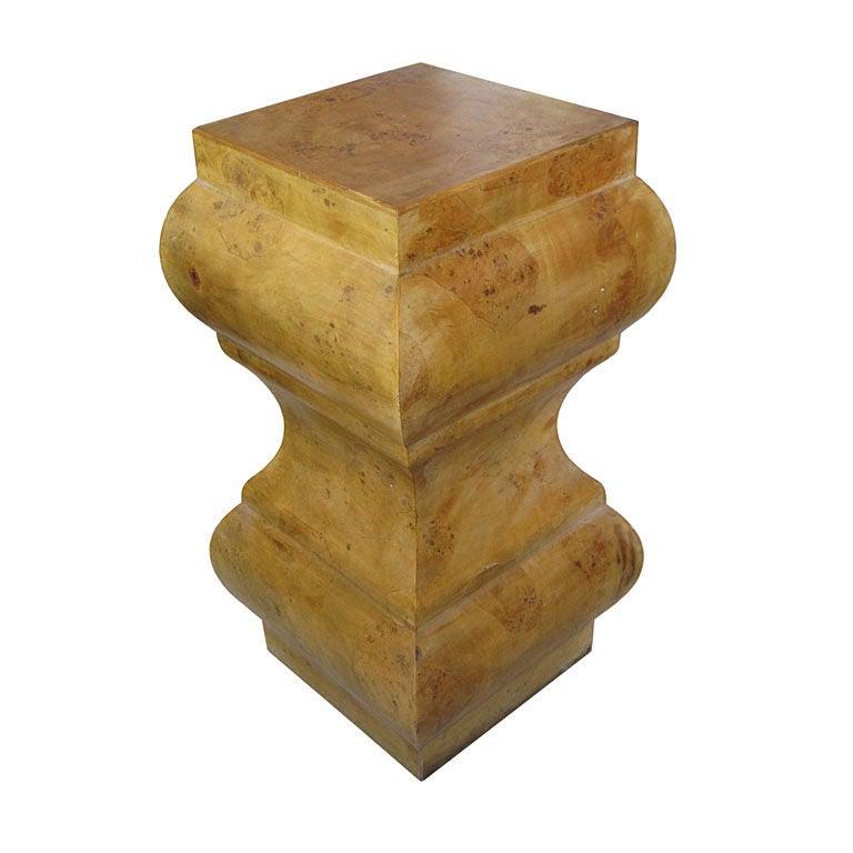 Modern Italian Burl Wood Pedestal or Table Base at 1stdibs : XXX881712921162031 from www.1stdibs.com size 768 x 768 jpeg 45kB