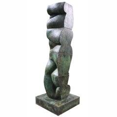 "Tanya Ragir ""Vertical Landscape I"" 1998, Bronze Sculpture"
