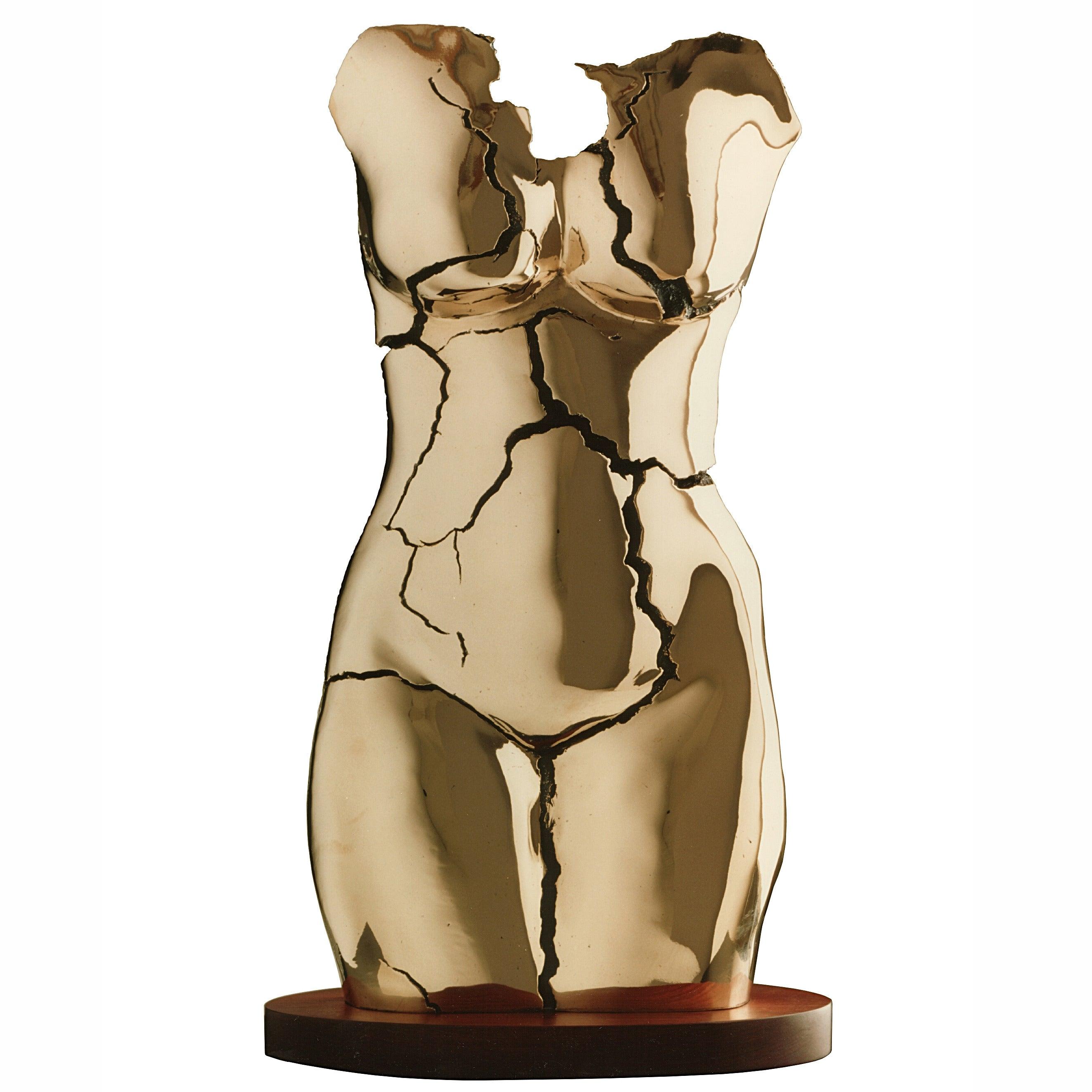 "Tanya Ragir ""Torso"" 1976, Bronze Sculpture"
