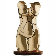 "Tanya Ragir ""Torso"" Bronze Sculpture Limited Edition of Nine"