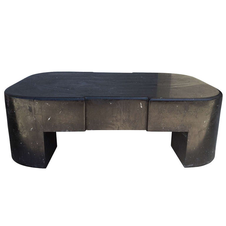 Black Marble Coffee Table Mexico 1960 39 S At 1stdibs