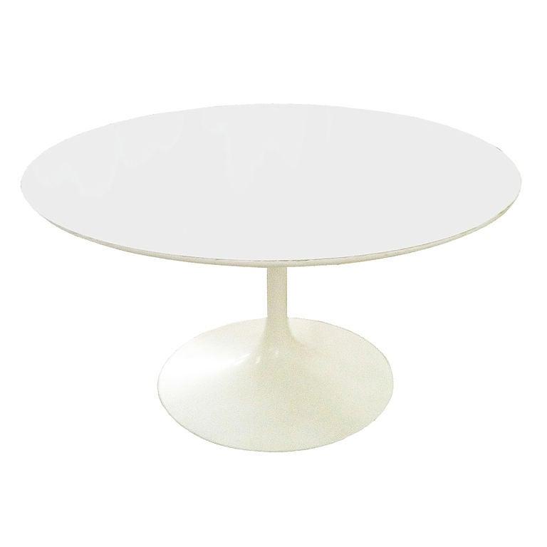 Eero Saarinen For Knoll Tulip Dining Table Laminate Top At Stdibs - 54 saarinen table