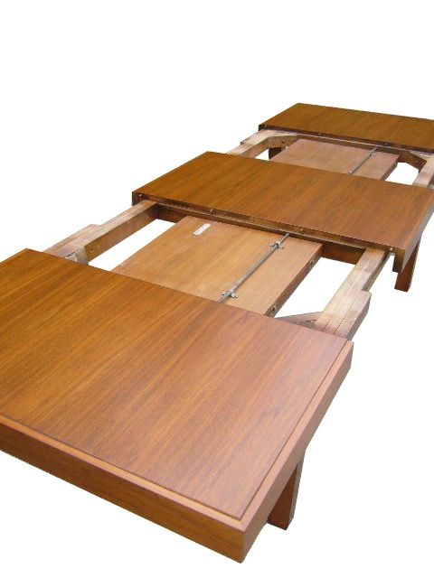 Expandable Dining Table by George Nelson for Herman Miller at 1stdibs