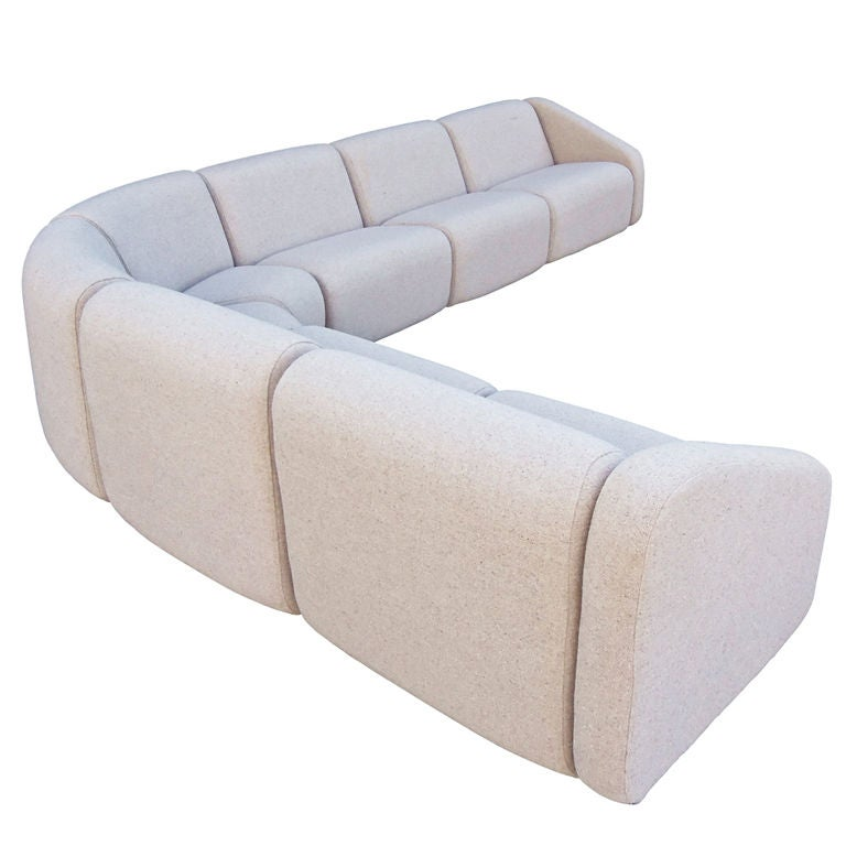 7 Piece Tappo Seating Unit By Vecta Contract 1