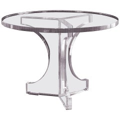 """Charles Hollis Jones Triple Arch Dining Table for the """"Arch"""" Line, Signed"""