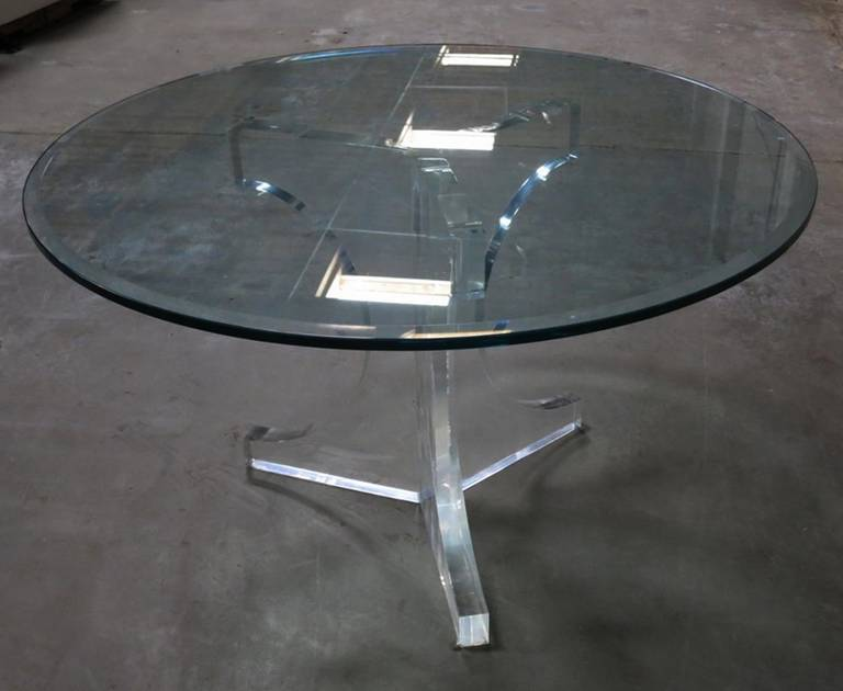 Charles Hollis Jones Triple Arch Dining Table for the
