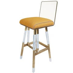 Vintage Charles Hollis Jones Barstool
