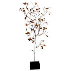 Super Rare, Curtis Jere Metal Tree Sculpture