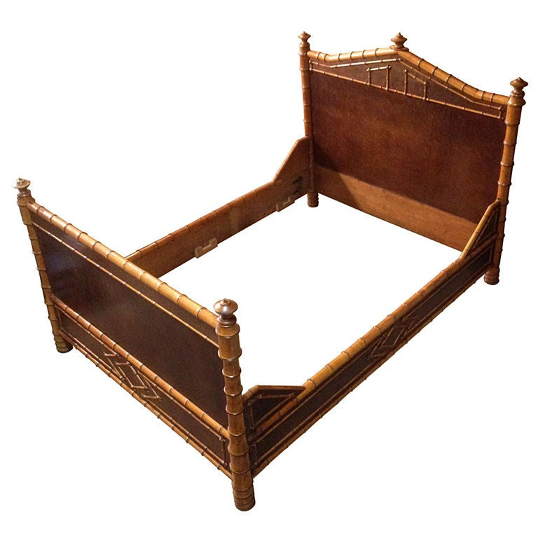 1800 39 S Bamboo Full Bed Attb To R J Horner At 1stdibs