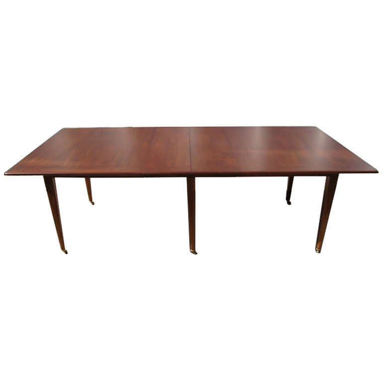 Extension Dining Room Table On Casters