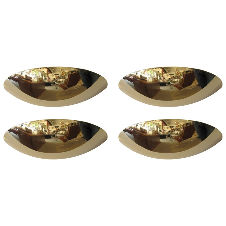 4 italian brass sconces by oma illuminazione at 1stdibs for Oma illuminazione