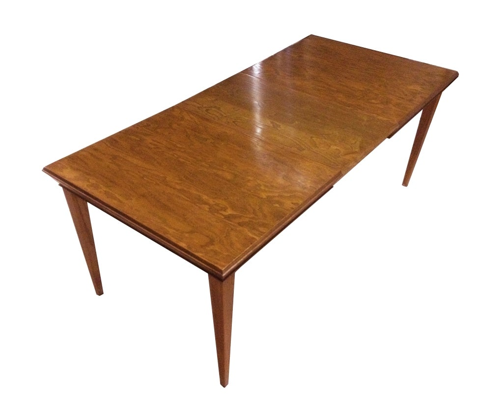 paul frankl dining suite includes an expandable table with