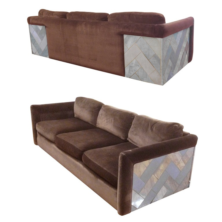 Paul Evans Cityscape 3 Seater Sofa At 1stdibs