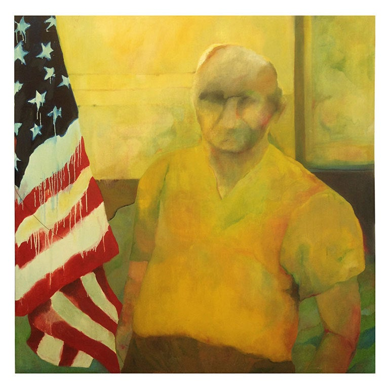 """The Patriot"" Oil on Canvas by Nancy Mozur"
