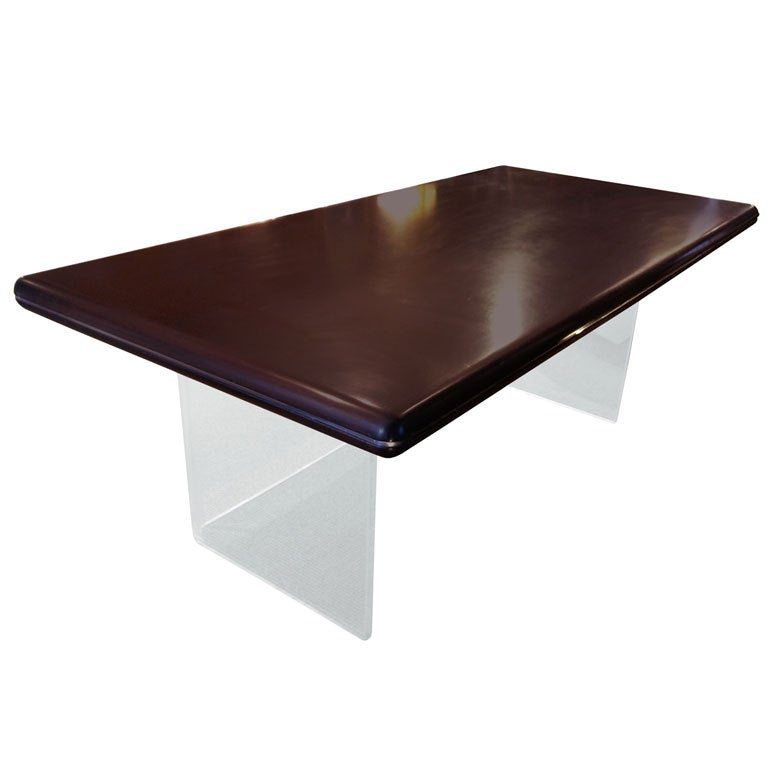 Mid-Century Modern Executive Desk by Gianni Furniture For Sale