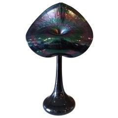 Stuart Abelman Jack-in-the-Pulpit Glass Vase