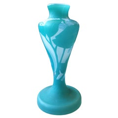 Art Nouveau Cameo Vase by Emile Galle