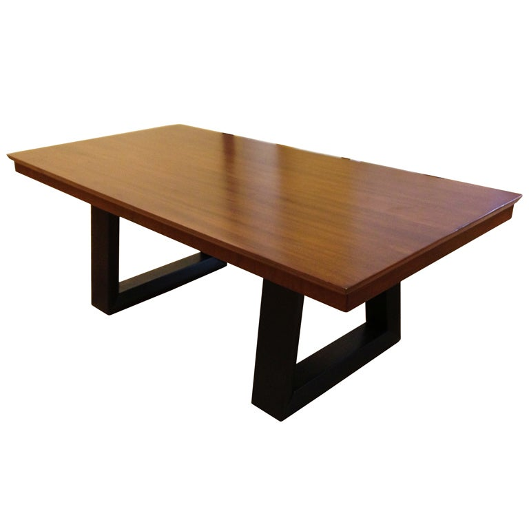Architectural coffee table by paul laszlo at 1stdibs for Architectural coffee table