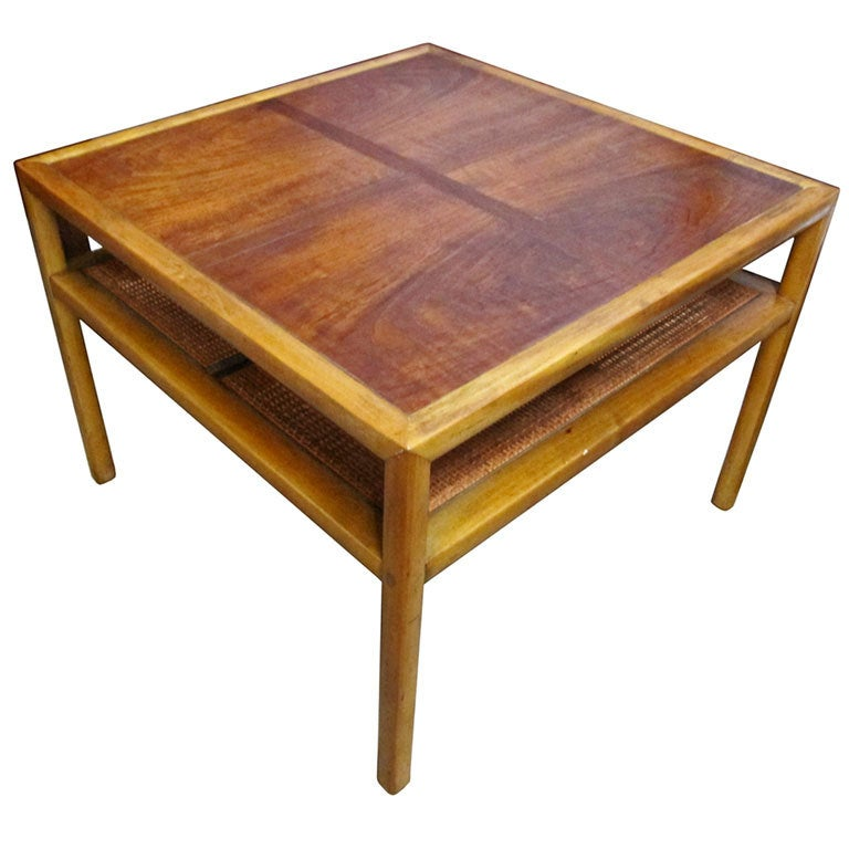 Square cocktail table by michael taylor for baker furniture at 1stdibs Baker coffee table
