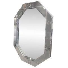 """""""Oktagonos"""" Mirror by Carol Canner Crafted by Mark Burday"""