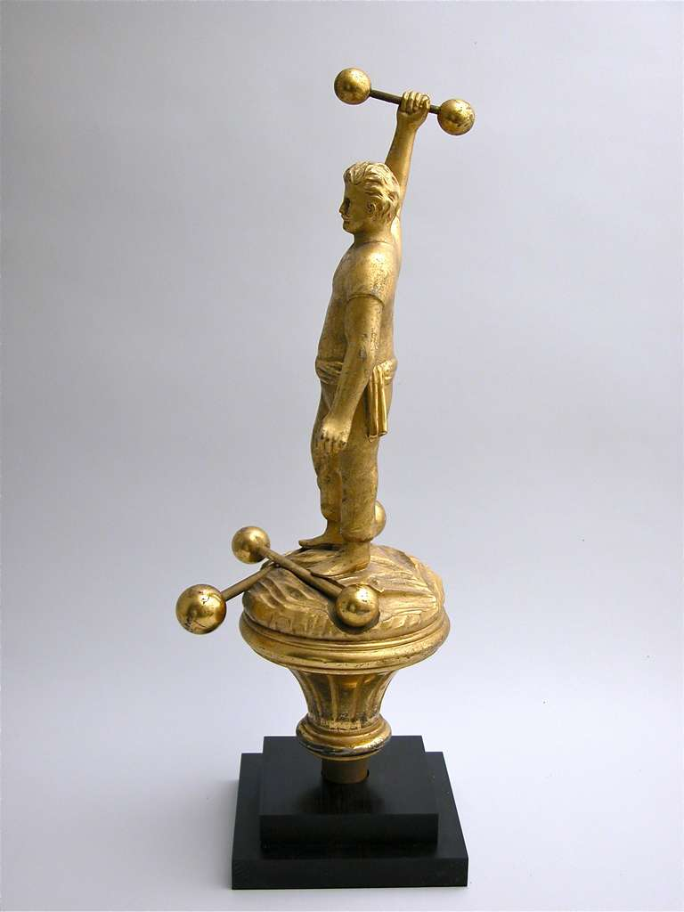 Figural Parade Finial For Sale 2